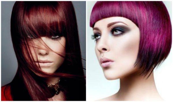 nuevas-tendencias-en-colores-y-tonos-de-cabello-CORTES-PEINADOS-color-rojo-con-flequillo