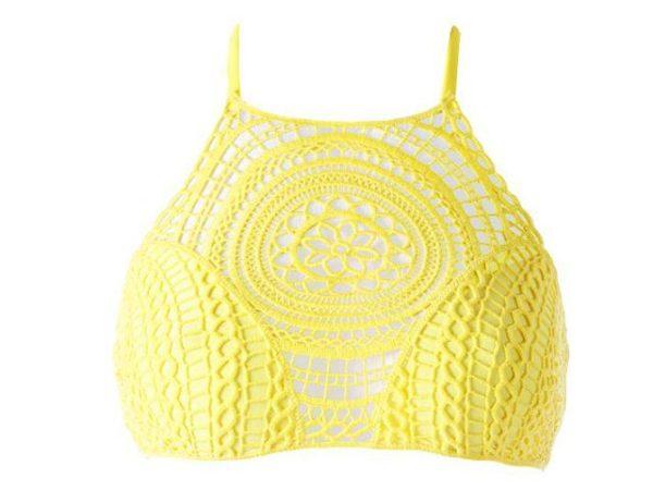 bikinis-calzedonia-2016-cuello-halter-amarillo