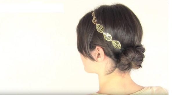 peinados-faciles-trenza-diadema-clasica