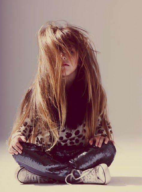 Corte pelo largo niña