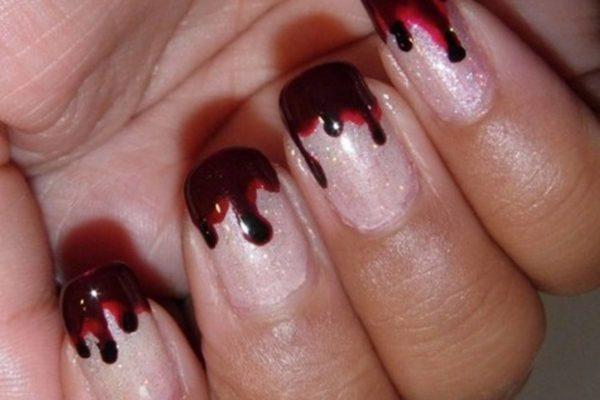 ideas-decoracion-de-uñas-halloween-2014-uñas-con-efecto-de-sangre