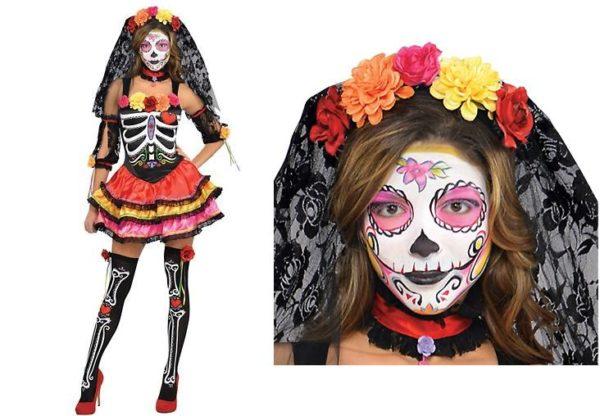 Los-disfraces-de-moda-para-halloween-2014-disfraz-dia-de-los-muertos-mexico