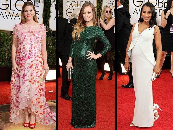 vestidos-de-fiesta-y-noche-de-famosas-embarazadas-2015
