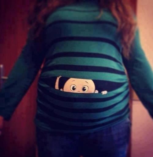 disfraces-de-halloween-para-embarazadas-camiseta-pintada