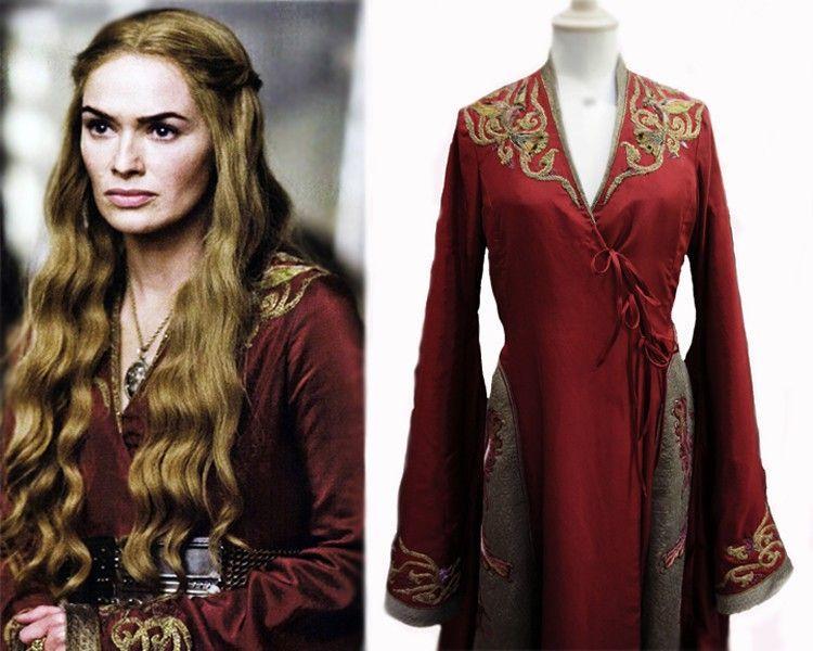disfraz-juego-de-tronos-casero-para-halloween-2014-Cersei-Lannister