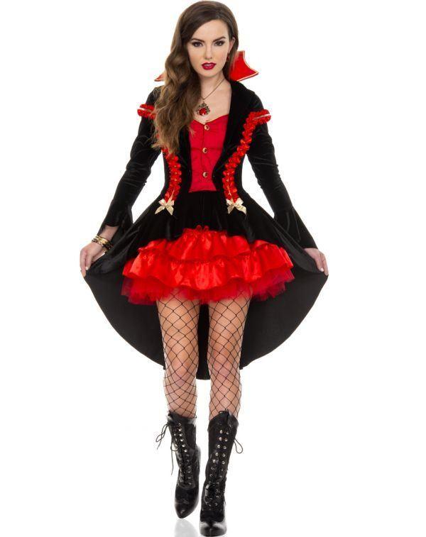 Los disfraces de moda para Halloween 2015-disfraz-de-vampiresa