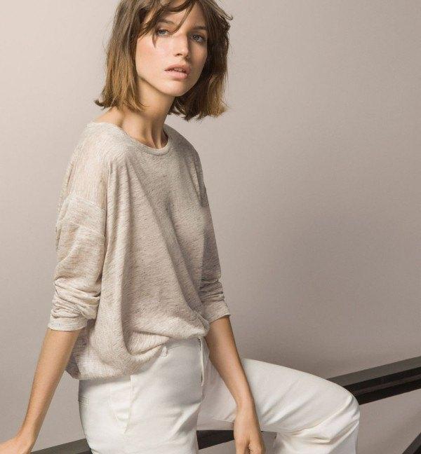 moda-otono-invierno-para-mujer-camisetas-y-camisas-CAMISETAS-lino-de-massimo-dutti