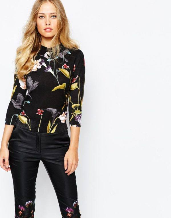 moda-otono-invierno-para-mujer-jerseys-y-sudaderas-2015-2016-JERSEYS-modelo-de-estampado-floral-de-asos