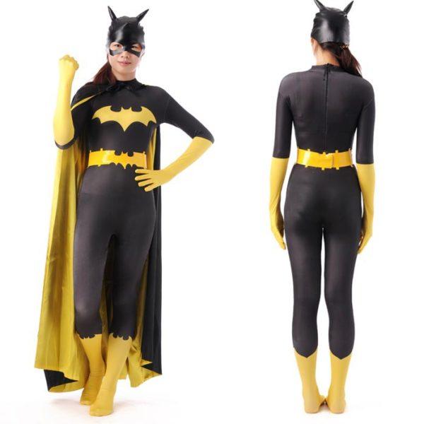 disfraces-halloween-2016-mujer-disfraz-de-batgirl