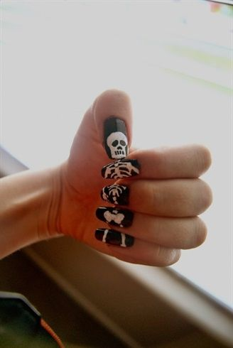 Halloween-skeleton