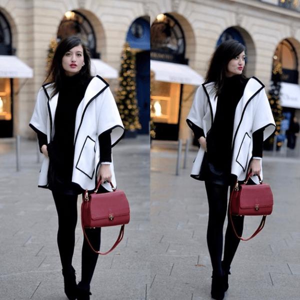 los-ponchos-para-mujer-para-este-otono-invierno-ponchos-blanco-y-negro