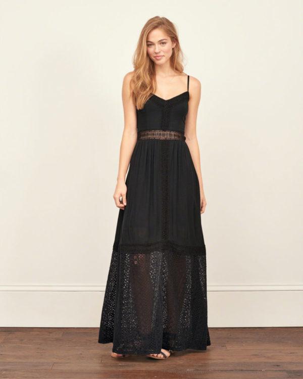 catalogo-abercrombie-fitch-chica-y-mujer-primavera-verano-vestido-negro