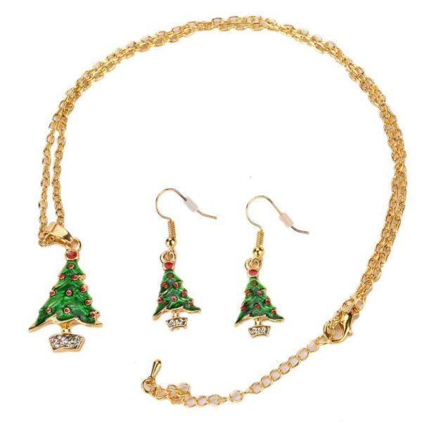joyas-de-navidad-en-oro-conjunto-arboles-de-navidad