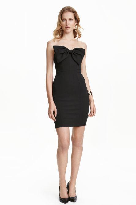 vestidos-navidad-2016-cortos-hm-negro