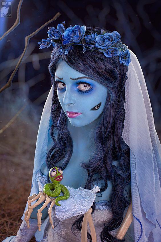 maquillaje-halloween-novia-cadaver