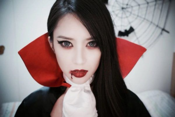 maquillaje-halloween-vampiresa