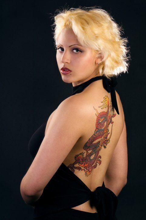 Tatuaje sexy 2018 tatuaje hombro dibujo oriental