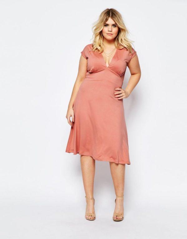 vestidos-de-fiesta-para-gorditas-2016-primavera-verano-asos-curve-rosa