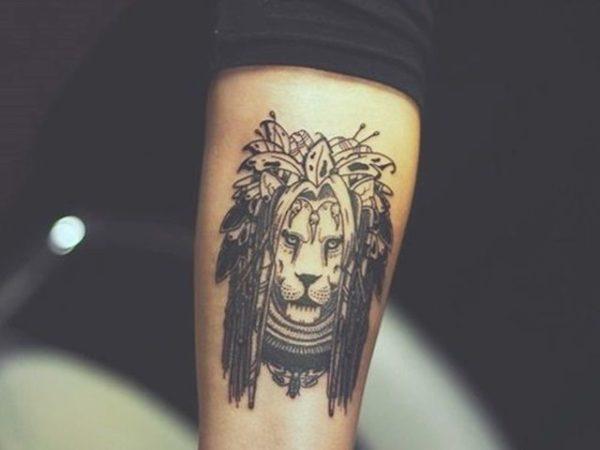Fotos De Tatuajes De Leon Y Leona Para Mujer Cual Es El Significado Del Tatuaje Simbolo Del Leon Modaellas Com