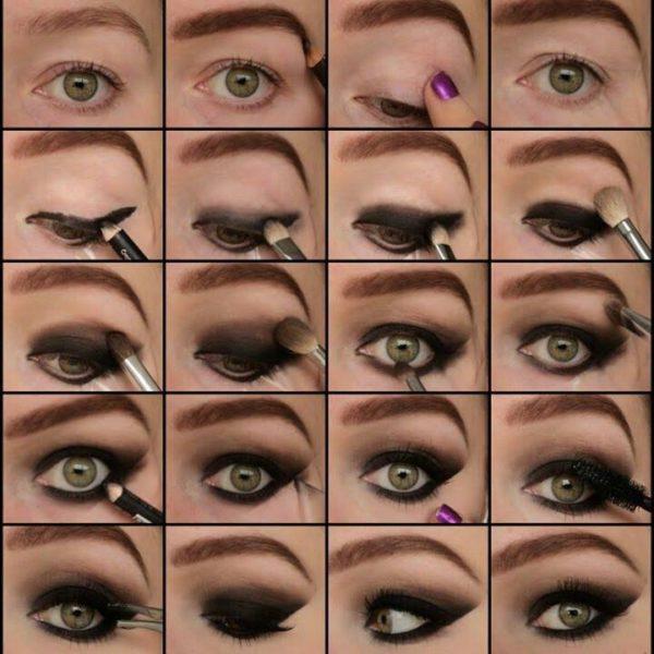 Cómo-maquillarse-los-ojos-paso-a-paso-smokey-eyes