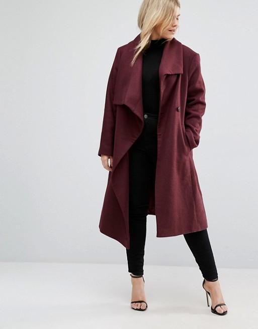 ropa-para-gorditas-otono-invierno-2016-2017-abrigo-clasico