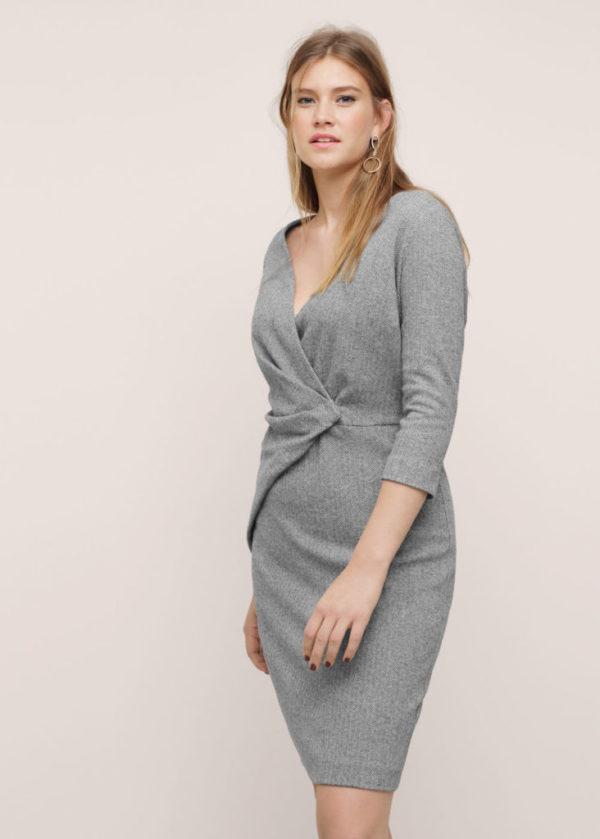 vestidos-de-fiesta-para-gorditas-otono-invierno-2016-2017-vestido-drapeados-gris