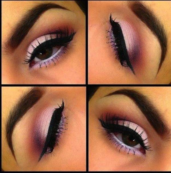 trucos-para-maquillar-ojos-marrones-sombras-rosadas