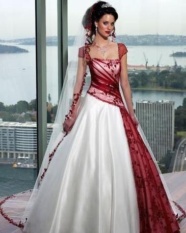 vestidos-de-novia-diferentes-rojo-y-blanco