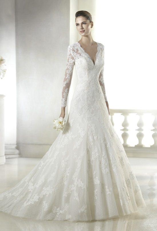 vestidos-de-novia-manga-larga-emperatriz