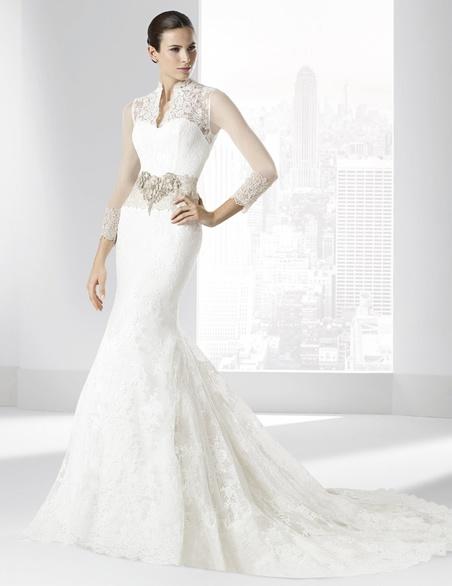vestidos-de-novia-manga-larga-flamenco