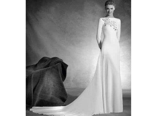 vestidos-de-novia-manga-larga-liso
