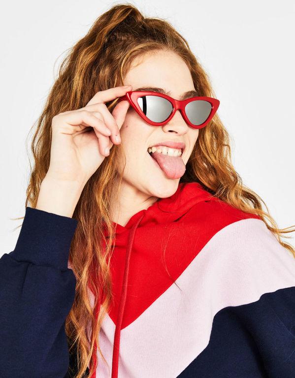 Gafas de sol rojas para otoño invierno