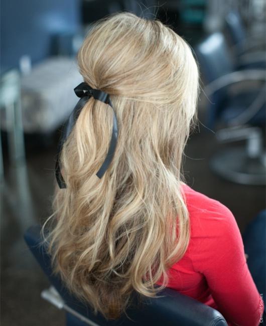 peinados-faciles-semirecogido-cardado