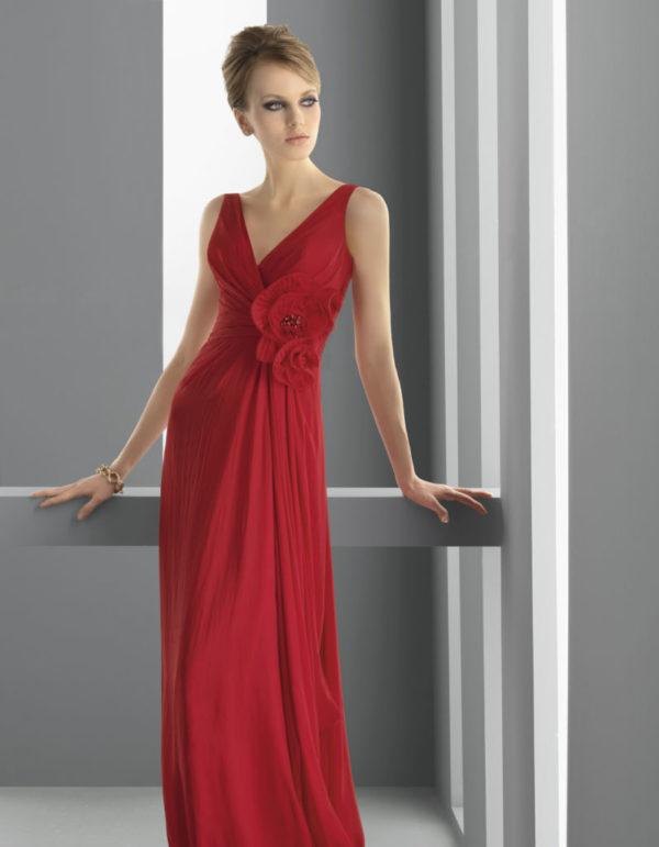 vestidos-de-fiesta-rojo-largo-corte-recto