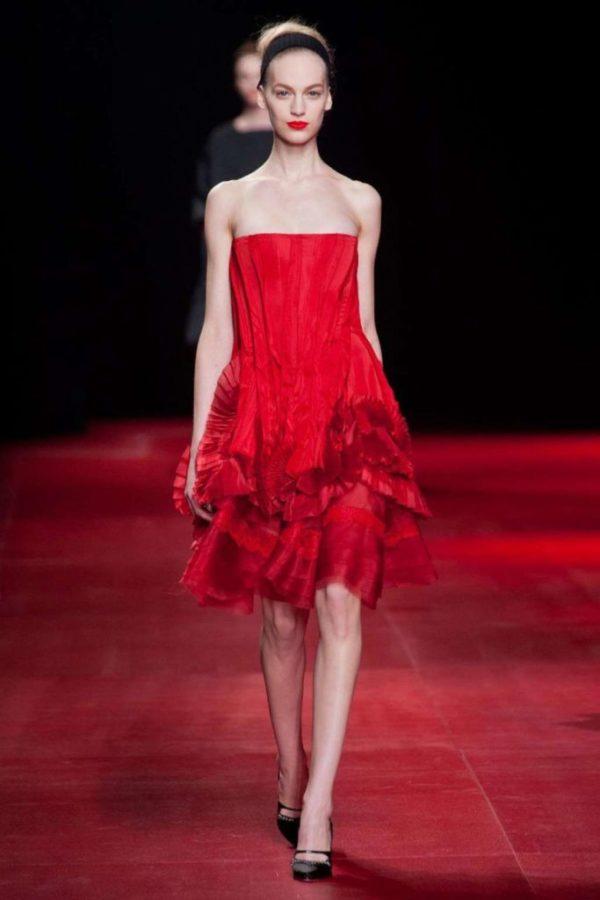vestidos-de -fiesta-rojos-modaella-vestido-rojo-volantes