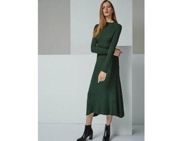vestidos-adolfo-dominguez-verde-punto
