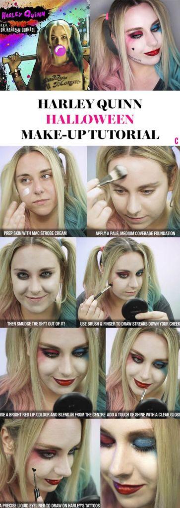maquillaje-harley-quinn-escuadron-suicida-suicide-squad-paso-a-paso