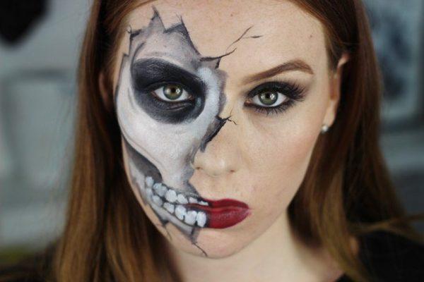 maquillaje-halloween-calavera-rota