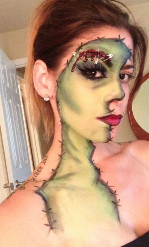 maquillaje-halloween-media-cara-frankenstein