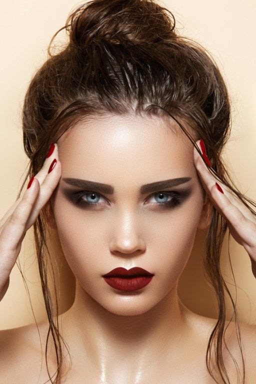 Make-up-for-valentine-lips