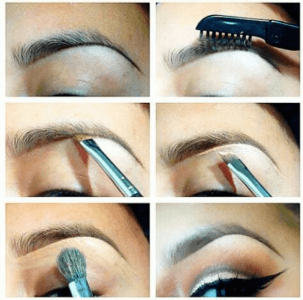 Makeup-for-san-valentin-step-by-eyebrow