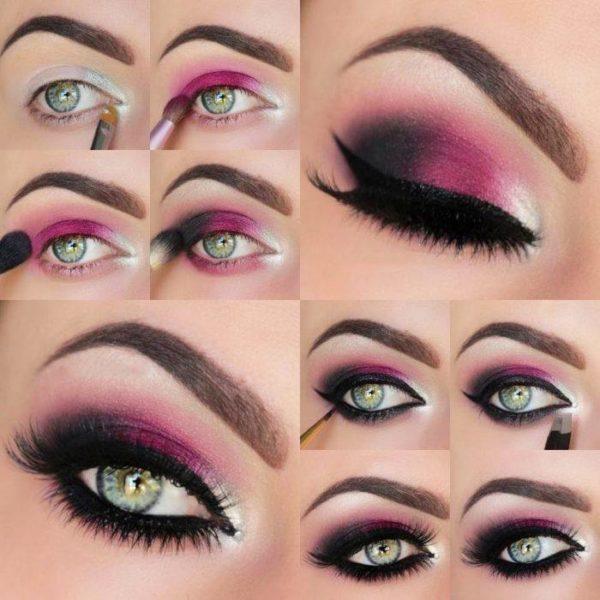 Make-up-for-san-valentin-step-by-step-mauve