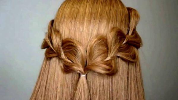 peinados-para-san-valentin-trenzas-semirecogido