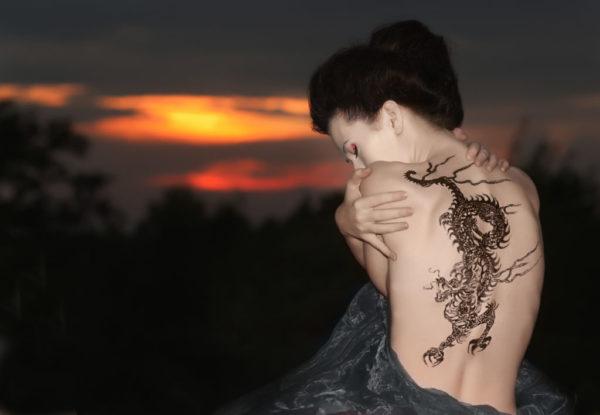 Los mejores disenos de tatuajes de dragones dragon chino