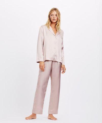 catalogo-oysho-para-mujer-pijama-satinado-malva