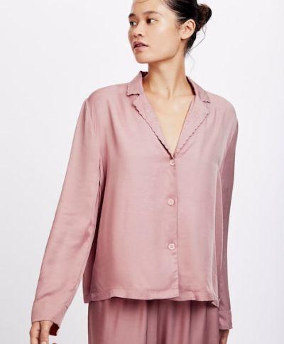 catalogo-oysho-para-mujer-pijama-scallop-malva