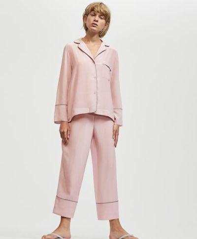 catalogo-oysho-para-mujer-pijama-seda-malva
