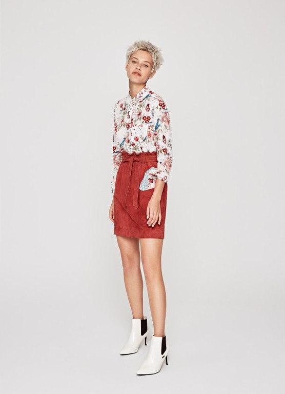 catalogo-pepe-jeans-falda-de-ante-vivian