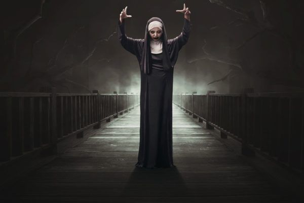 Monja Valak de El Conjuro ser poderoso del inframundo