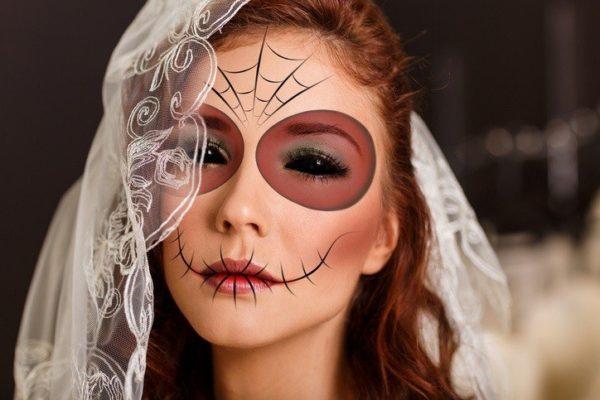 Pintar la cara para halloween pinturas color hematico